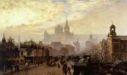 From Pentonville Road Looking West, London, Evening