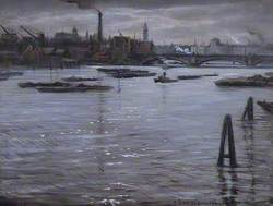 The Thames at Southwark, London