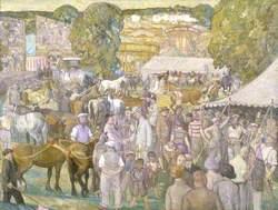 Men, Women and Horses, Barnet Fair, London