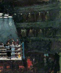 Boxing Match at the Royal Albert Hall