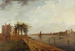 Lambeth Palace from Millbank, London