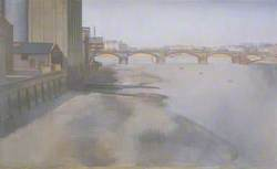 Battersea Bridge from the Albert Bridge, London