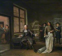 The Interior of a Cloth Merchant's
