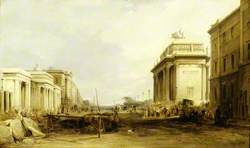Hyde Park Corner and Constitution Arch, London