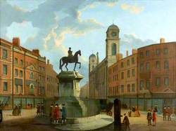 Charing Cross and Northumberland House, London
