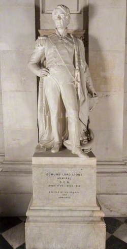 Monument to Admiral Lord Edmund Lyons (1790–1858)