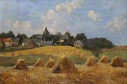 Crail at Harvest Time