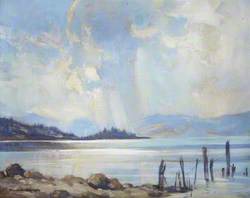 Blue and Silver, Afternoon on Loch Awe