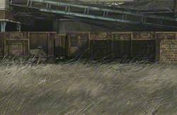 Empty Coal Wagons (Seafield Colliery)