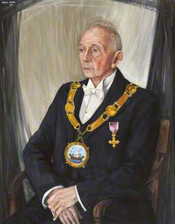 James D. Lawson, OBE, Provost of the Royal Burgh of Pittenweem