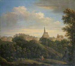 Dunfermline from the West Park of Pittencrieff