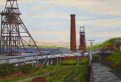 Michael Colliery, Pithead, East Wemyss, Late 1970s