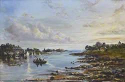 Inverkeithing Bay at Ebb Tide