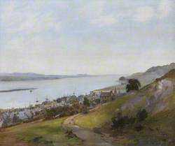 View of Newburgh and the Tay from the Woodriffe Road