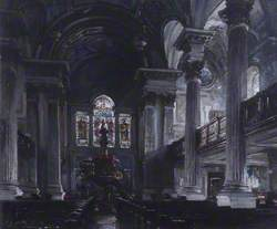 Interior of St Andrews Parish Church, Glasgow