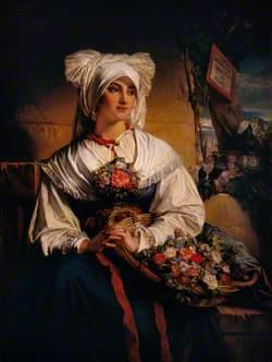 A Trieste Flower Girl