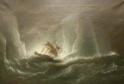 Antarctic Expedition: Escape from the Bergs, 1842