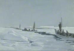 Sailing towards Elephant Island through Open Pack Ice, Weddell Sea