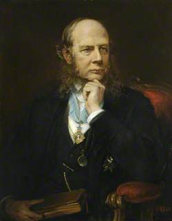 Sir Henry James Sumner Maine (1822–1888), KCSI, LLD, FRS, Master (1877–1888)