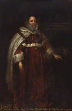 Edward Coke (1552–1634), Lawyer, Legal Writer and Politician
