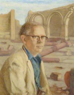 Reverend Professor Jack Martin Plumley (d.1999), Chair of Egyptology (1955–1977), at Qasr Ibrim