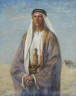 Bertram Sidney Thomas (1892–1950), Explorer and Arabist