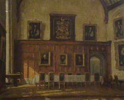 The High Table in the Hall, Corpus Christi College