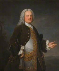 Sir George Downing (1685–1749), 3rd Bt, Founder