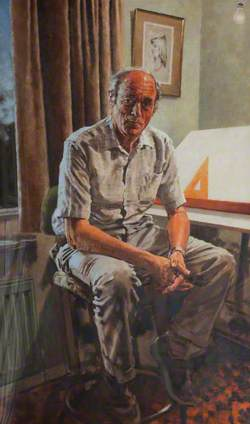 Wally Cooper, Retired Draughtsman
