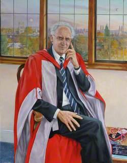 Sir Brian Heap, CBE, ScD, FRS, Twelfth Master of St Edmund's College (1996–2004)
