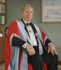 Dr Richard Maitland Laws, CBE, ScD, FRS, Eleventh Master of St Edmund's College (1985–1996)