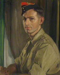 Lieutenant Hutchison of the Royal Artillery, Son of the Artist