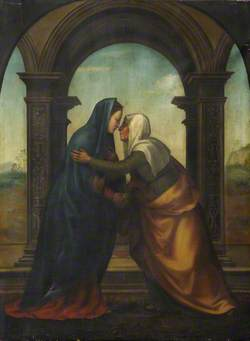 The Visitation of Saint Elizabeth to the Virgin Mary