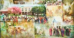 Wolfson College Mural (1965–2005)