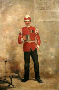 A Bugler in the Duke of Cornwall's Light Infantry