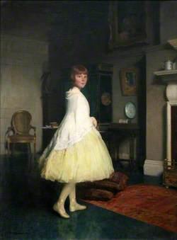 Lesley in the Studio
