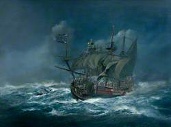 Sinking of the 'Association' in 1707