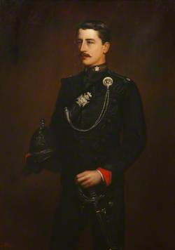 Piers Alexander, Viscount Valletort (1865–1944), Aged 21