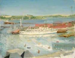 Russian Cruise Ship in Falmouth Docks