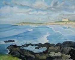 Towan Headland and Fistral Beach