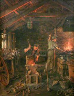 'By hammer and hand, all arts doth stand' (The Forge)