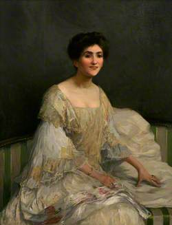 The Bride (Lady Forbes)