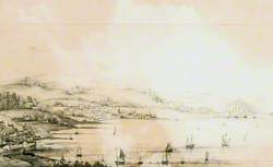 View from Paul Hill – Penzance, Marazion and the Mount