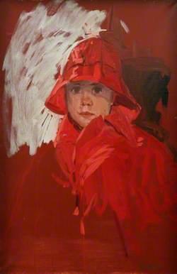 John in His Red Raincoat