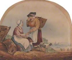 Two Fisherwomen