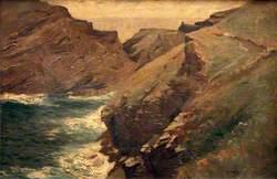 Cliff Scene, Tintagel