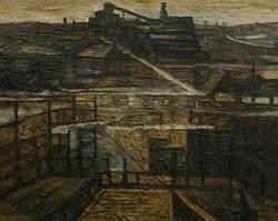 Geevor Tin Mine, Winter 1990