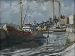 Dutch Boat, Hayle Harbour
