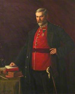 Lieutenant Colonel and Honorary Colonel Herbert Brooke-Taylor (1855–1923), VB