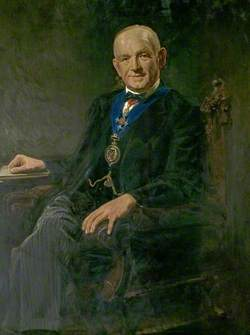 Portrait of an Unknown Chairman of Derbyshire County Council